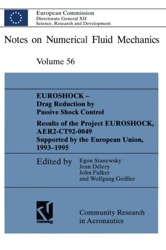 EUROSHOCK - Drag Reduction by Passive Shock Control: Results of the Project EUROSHOCK, AER2-CT92-0049 Supported by the E