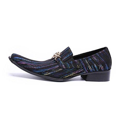 Zapatos HUAN y Ons Ocasiones Cuero de Informales A Oxfords Hombre Para de y Carrera Fiesta de y Oficina Mocasines Slip Noche Confort qC4rCwpdx