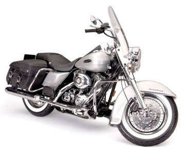 Testors 7222 Lincoln Mint Ultra Metal Series Harley-Davidson FLHRCI Road King Classic Model, 1/6 - Shops Lincoln Road