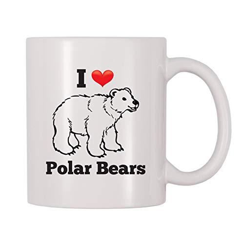 (4 All Times I Love Polar Bears Coffee Mug (11 oz))
