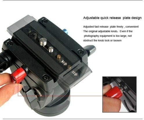 Professional DV Video Camera Tripods Monopods Fluid-Pan Head Kit 72 inch 1800mm