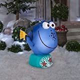 Gemmy 39436 Airblown Inflatable 3.5 Foot Long Dory fish from Finding Nemo