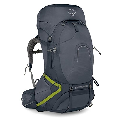 Osprey Packs Osprey Pack Atmos 65 Backpack, Abyss Grey, Medium