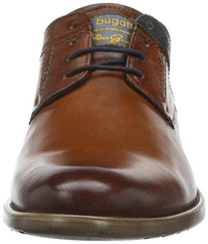 Bugatti Herren 312163022100 Derby Braun (cognac 6300)