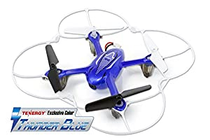 Tenergy Syma X11C 4 Channel 2.4Ghz RC Quadcopter with 2MP HD Camera (Tenergy Exclusive Thunder Blue)