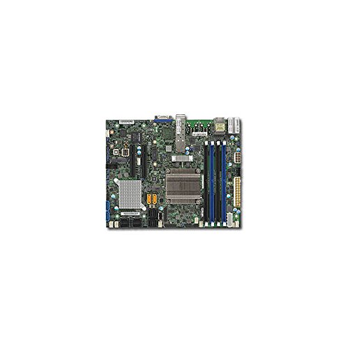 Supermicro Dual Core Motherboard (Supermicro DDR3 Socket F Motherboard X10SDV-2C-7TP4F-O)