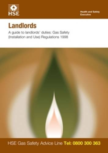 Landlords: a guide to landlords' duties, Gas Safety (Installation and Use) Regulations 1998 (pack of 15) (Industry guidance leaflet)