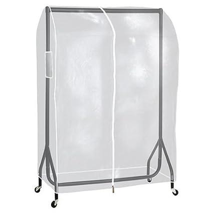 El montaje de tiendas tienda semitransparente 91,44 cm largo lovato perchero para colgar ropa de carriles
