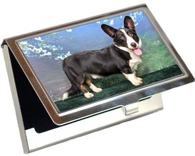 - Cardigan Welsh Corgi Business Card / Credit Card Case