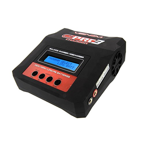 (Venom Pro Charger 3 RC LiPo and NiMH Battery Balance AC/DC Powered)