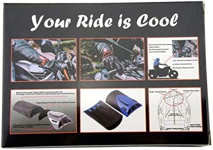 Balck Goldfire 1 Pair Universal Cooling Arm Sleeves Accessories Motorcycle Cooling System Jacket Sleeve Vent for Summer Warm Weather