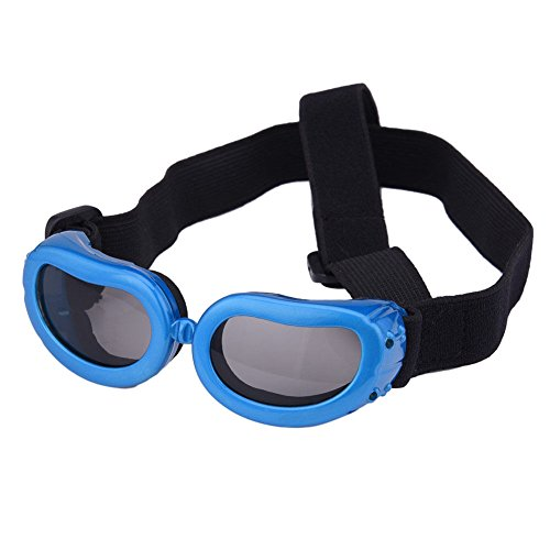 XENO-Small Dog Sunglasses Goggles UV Sun Glasses Glasses Eye Wear Protection - Sunglasses Eye Q