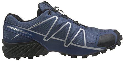Salomon Mens Speedcross 4 Trail Runner Blu