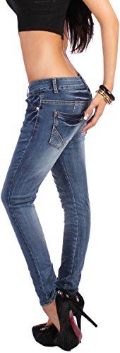 Harén Colour Oro Anti De Azul 34 Vaquero Pantalón Xs Xl Bombeo Pantalones Botones Boyfriendcut Form Para 42 Aladin Mujer qgX8xwP8O