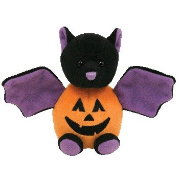 Beanie Baby - BATKIN the Pumpkin Bat