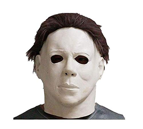 Michael Myers Decoration Box Gift Realistic Party Dress Latex Halloween Mask ()