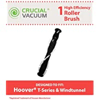Replacement for Hoover T-Series Brush Roller Fits Windtunnel UH70120 Air Bagless, Compatible With Part # 303202001 & 020219001, by Think Crucial