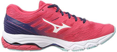 Teaberry Femme 2 Basses Blued Mizuno Wave Sneakers Prodigy 001 Multicolore Silv Sn06p
