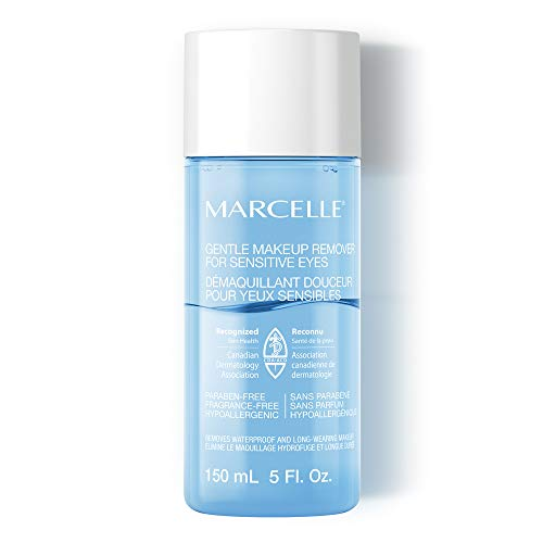 Marcelle Gentle Eye Makeup Remover for Sensitive Eyes, Hypoallergenic and Fragrance-Free, 5 fl oz (5 Oz Makeup Remover)
