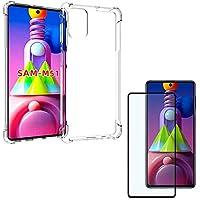 Capa Anti Quedas Samsung Galaxy M51 + Películas 3D Premium Vidro [Coronitas Acessorios]