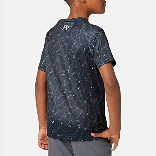 Under Armour Boys Tech Big Logo Printed Short Sleeve Gym T-Shirt