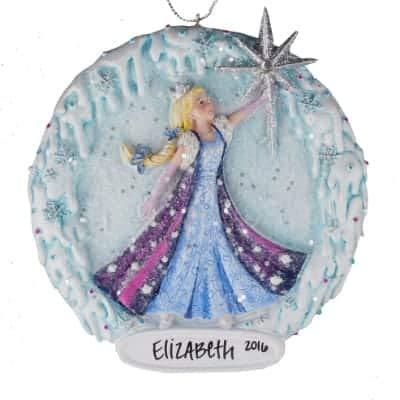 princess snow globe personalized ornament unique christmas tree ornament classic decor for a