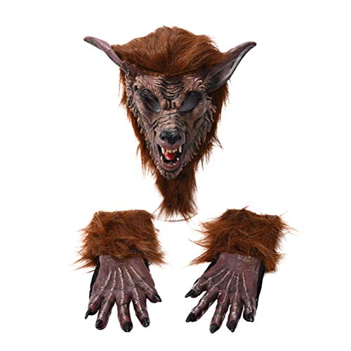 Little Red Riding Hood Wolf Slayer Costumes - Amosfun 3 Pcs Halloween Wolf Costume
