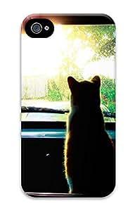 Animals 074 Custom iPhone 4/4S Case Cover ¨C Polycarbonate