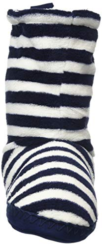 Blau Montants Chaussons Tom Joule Homestead French Fnavstp Femme Navy Stripes qExtXx