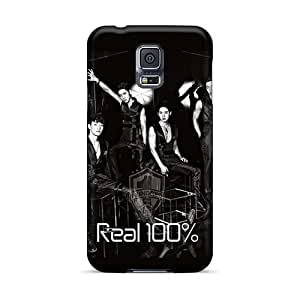 Protector Hard Cell-phone Cases For Samsung Galaxy S5 (AfO2356QxxZ) Support Personal Customs Beautiful Black Veil Band Pattern