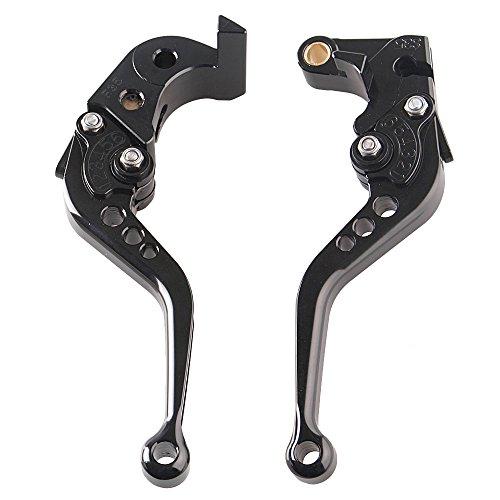 Short Brake Clutch Lever Set For Suzuki GSXR 600 750 06-10 & GSXR1000 05 06 (Gsxr Clutch Lever)