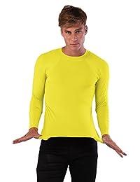 Ingear Men Rash Guard Long Sleeve Shirt Swimwear.