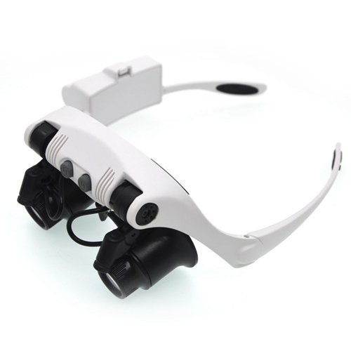 Led Light 20X Magnifier Loupe Lens in US - 8