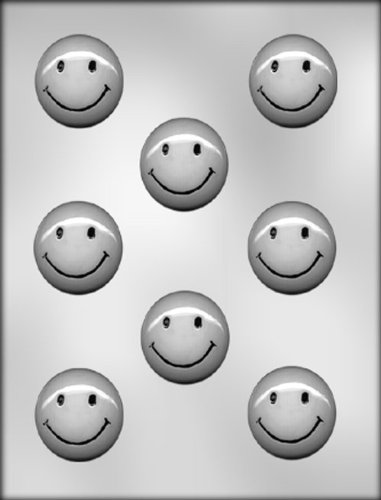 CK Products Smiley Face Mint Chocolate Mold ()