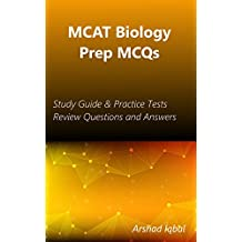 MCAT Biology Prep MCQs: Study Guide & Practice Tests Review Questions and Answers