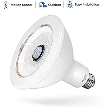 Sengled SS-PAR38NAE26W LED with Motion Sensor (Smartsense), PAR38 Smart Security Floodlight Bulb 3000K, 1050 Lumens, Waterproof for Outdoor Use, 1 Pack