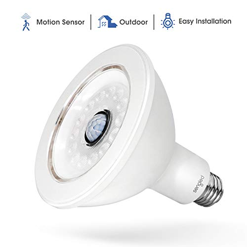 Motion Sensor Flood Light Bulb