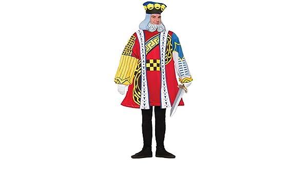 Forum Novelties 76831 rey de corazones disfraz (UK 42-44)  Amazon.es   Juguetes y juegos 25533c23422