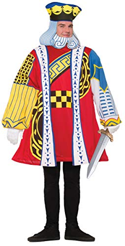 Forum Novelties Men's Standard King of Cards Costume, as as Shown, Standard]()