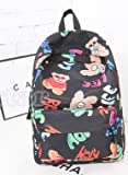 Galaxy Backpack / Back-to-School / New Hot Sale Unisex Canvas School Bag Travel Bag Shoulders Bag / Colorful Camouflage