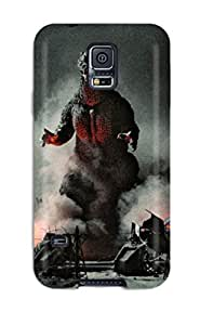 MeaganSCleveland Case Cover For Galaxy S5 - Retailer Packaging Godzilla Protective Case