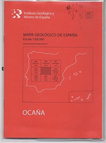 Mapa Geológico de España escala 1:50.000. Hoja 1051, Ronda Cartografía: Amazon.es: Arandilla Mena, Pablo, Hernández Samaniego, Andrés, Martín Herrero, Dionisio: Libros