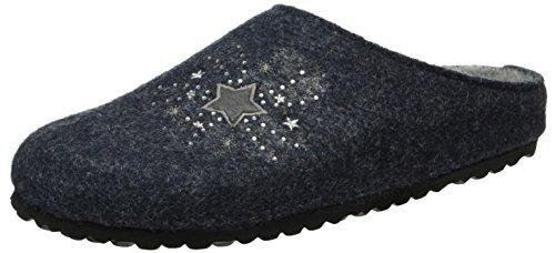 830 Estar Azul Blau De Zapatilla Mujer Por Hausschuh Navy Softwaves Casa ftn1TzRqx