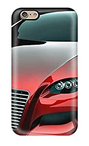 LatonyaSBlack Case Cover For Iphone 6 - Retailer Packaging Audi Concept 3 Protective Case