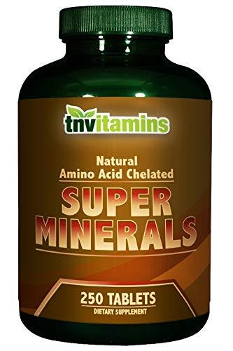 TNVitamins Super Chelated Multi Minerals 250 Tablets ()