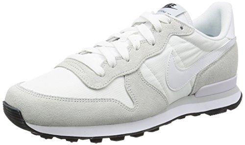 Nike Internationalist, Sneaker a Collo Basso Uomo Bianco (Summit White/White/Off White/Pure Platinum/Black)