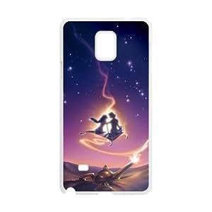 Samsung Galaxy Note 4 Cell Phone Case White Aladdin udjm