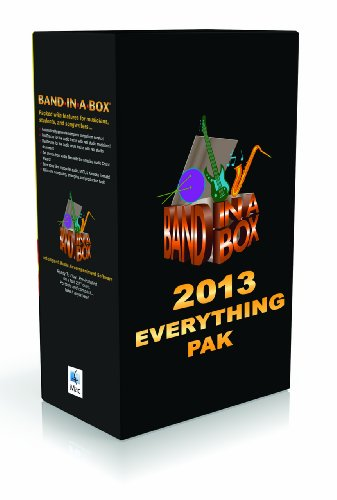 Band-in-a-Box 2013 Everything Pak [Old Version]