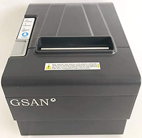 Amazon.com: WeeiUs 80 MM 31/8 POS Thermal Receipt Printer ...