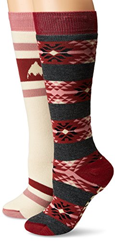 Burton Women's Weekend Two-Pack Socks, Canvas, Medium/Large for sale